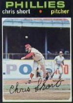 1971 Topps Baseball Cards      511     Chris Short w/ Pete Rose