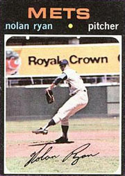 1971 Topps Baseball Cards      513     Nolan Ryan