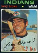 1971 Topps Baseball Cards      539     Larry Brown
