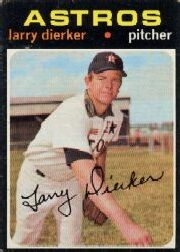 1971 Topps Baseball Cards      540     Larry Dierker