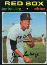 1971 Topps Baseball Cards      577     Jim Lonborg