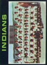 1971 Topps Baseball Cards      584     Cleveland Indians TC