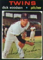 1971 Topps Baseball Cards      586     Dick Woodson