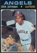 1971 Topps Baseball Cards      590     Alex Johnson