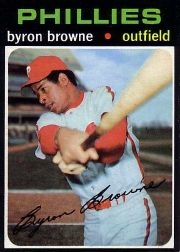 1971 Topps Baseball Cards      659     Byron Browne SP