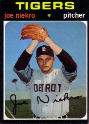 1971 Topps Baseball Cards      695     Joe Niekro