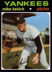 1971 Topps Baseball Cards      703     Mike Kekich