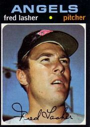 1971 Topps Baseball Cards      707     Fred Lasher