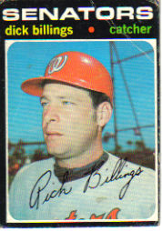 1971 Topps Baseball Cards      729     Dick Billings RC