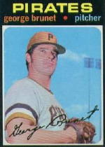 1971 Topps Baseball Cards      073      George Brunet