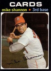 1971 Topps Baseball Cards      735     Mike Shannon SP