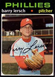 1971 Topps Baseball Cards      739     Barry Lersch SP
