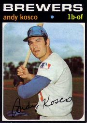 1971 Topps Baseball Cards      746     Andy Kosco