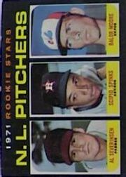 1971 Topps Baseball Cards      747     Al Severinsen/Scipio Spinks/Balor Moore RC