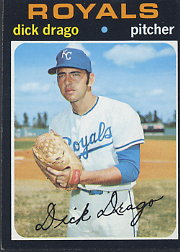 1971 Topps Baseball Cards      752     Dick Drago