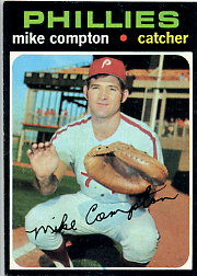 1971 Topps Baseball Cards      077      Mike Compton RC
