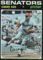 1971 Topps Baseball Cards      082      Casey Cox