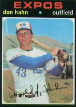 1971 Topps Baseball Cards      094      Don Hahn RC