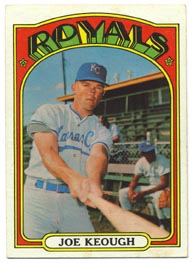 1972 Topps Baseball Cards      133     Joe Keough
