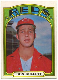1972 Topps Baseball Cards      157     Don Gullett