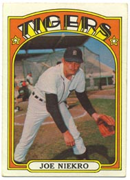 1972 Topps Baseball Cards      216     Joe Niekro
