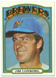 1972 Topps Baseball Cards      255     Jim Lonborg
