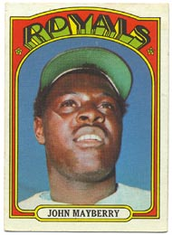 1972 Topps Baseball Cards      373     John Mayberry
