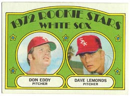 1972 Topps Baseball Cards      413     Don Eddy RC/Dave Lemonds
