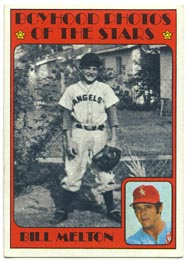 1972 Topps Baseball Cards      495     Bill Melton KP