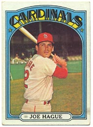1972 Topps Baseball Cards      546     Joe Hague