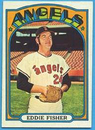 1972 Topps Baseball Cards      689     Eddie Fisher