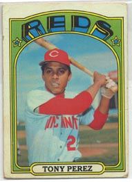 1972 Topps Baseball Cards      080      Tony Perez