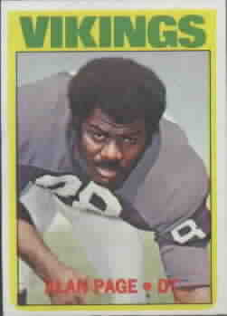 1972 Topps Football Cards