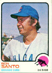 1973 Topps Baseball Cards      115     Ron Santo