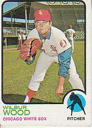 1973 Topps Baseball Cards      150     Wilbur Wood