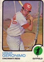1973 Topps Baseball Cards      156     Cesar Geronimo