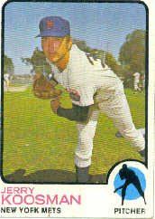 1973 Topps Baseball Cards      184     Jerry Koosman