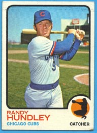 1973 Topps Baseball Cards      021      Randy Hundley