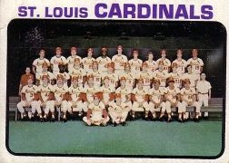 1973 Topps Baseball Cards      219     St. Louis Cardinals TC