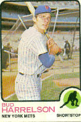 1973 Topps Baseball Cards      223     Bud Harrelson
