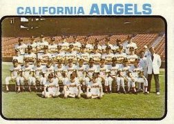 1973 Topps Baseball Cards      243     California Angels TC