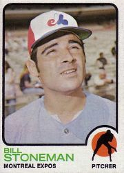 1973 Topps Baseball Cards      254     Bill Stoneman