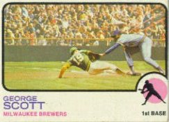 1973 Topps Baseball Cards      263     George Scott