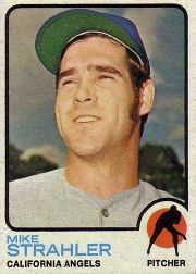 1973 Topps Baseball Cards      279     Mike Strahler