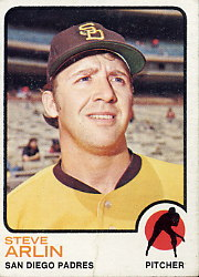 1973 Topps Baseball Cards      294     Steve Arlin
