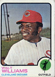 1973 Topps Baseball Cards      297     Walt Williams