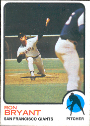 1973 Topps Baseball Cards      298     Ron Bryant