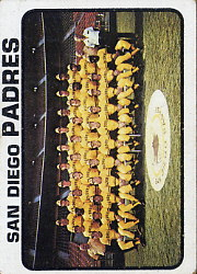 1973 Topps Baseball Cards      316     San Diego Padres TC