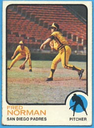 1973 Topps Baseball Cards      032      Fred Norman