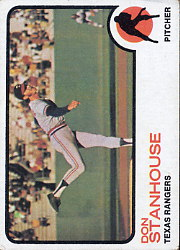 1973 Topps Baseball Cards      352     Don Stanhouse RC